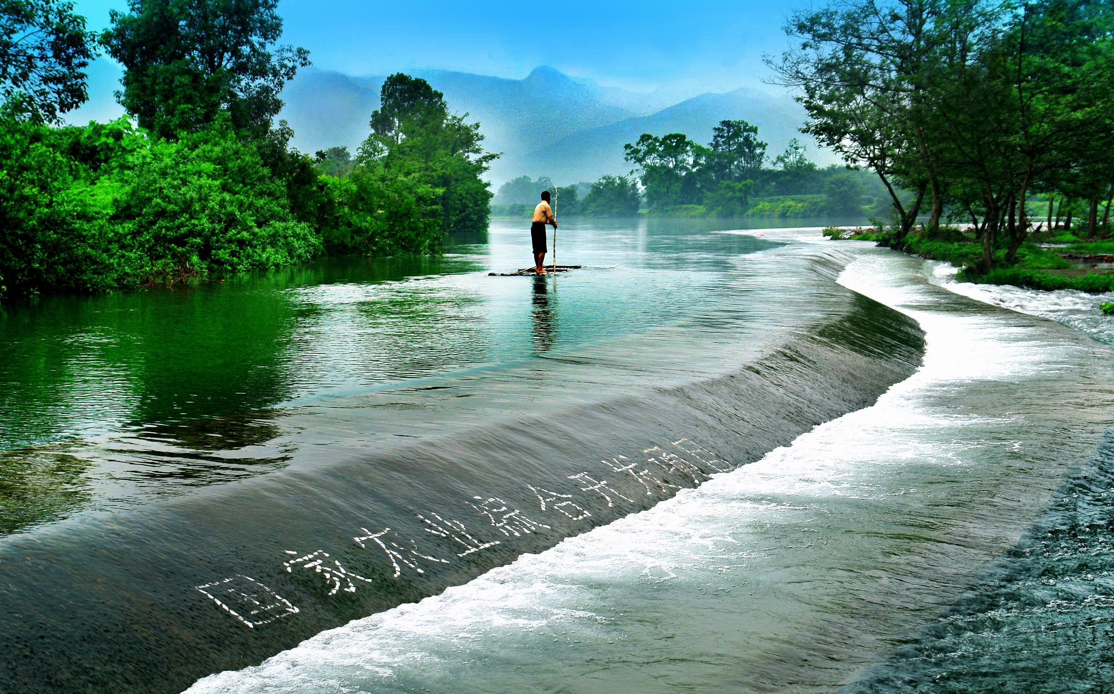 第二张是莲花岛的,莲花岛在临桂县的五通镇